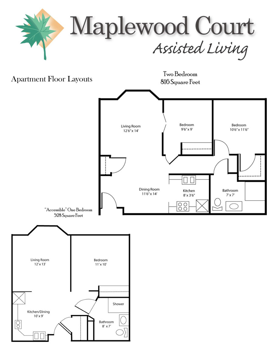 Maplewood Court Assisted Living | Assisted Living Facilities – Room