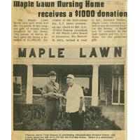 Maple Lawn Senior Care